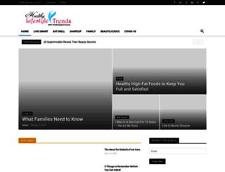 healthylifestyletrends.com screenshot