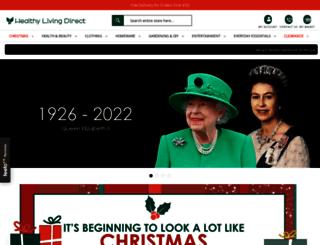 healthylivingdirect.com screenshot