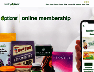 healthyoptions.com.ph screenshot