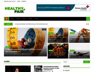 healthypair.net screenshot