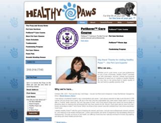 healthypawsla.com screenshot