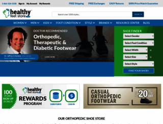 healthyshoestore.com screenshot