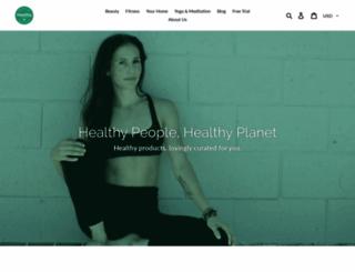 healthyshopping.com screenshot