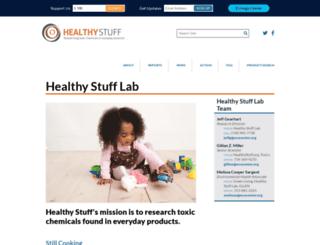 healthystuff.org screenshot