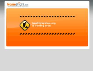 healthysystem.org screenshot