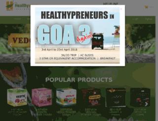 healthywayz.in screenshot