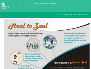 healtozeal.com screenshot