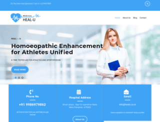 healu.co.in screenshot