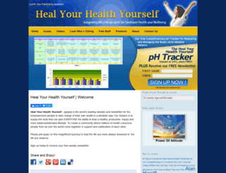 healyourhealthyourself.com screenshot