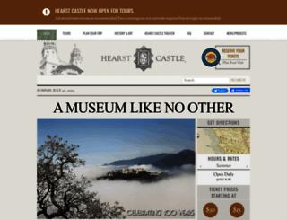 hearstcastle.org screenshot