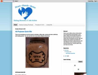 heart-hands-home.blogspot.com screenshot