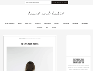 heartandhabit.com screenshot