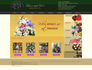 heartandsoulexpressions.com screenshot