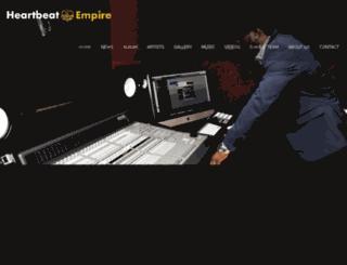 heartbeatempire.com screenshot