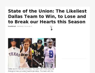 heartbreakcity.sportsblog.com screenshot