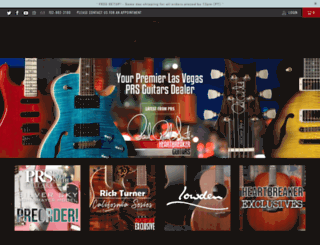 heartbreakerguitars.com screenshot