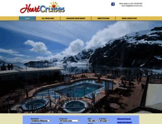 heartcruises.com screenshot