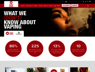 heartfoundation.co.za screenshot