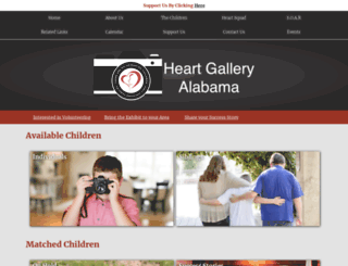 heartgalleryalabama.com screenshot