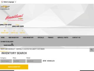 heartland.gmpsdealer.com screenshot