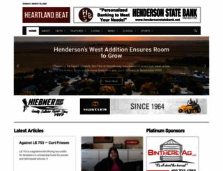 heartlandbeat.com screenshot