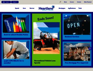 heartlandcu.org screenshot