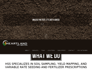 heartlandsoilsampling.com screenshot