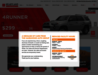 heartlandtoyota.calls.net screenshot