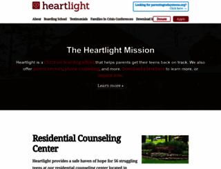 heartlightministries.org screenshot