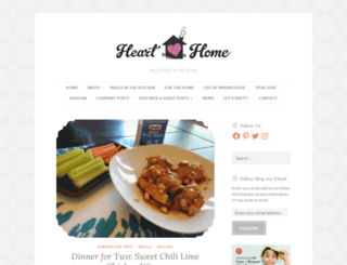 heartloveshome.wordpress.com screenshot