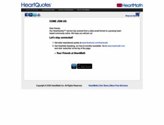 heartquotes.net screenshot