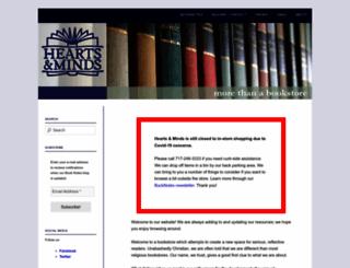 heartsandmindsbooks.com screenshot