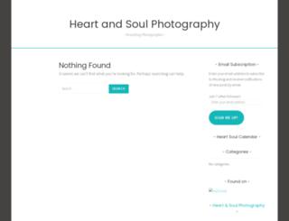 heartsoulphotography.wordpress.com screenshot