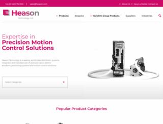 heason.com screenshot