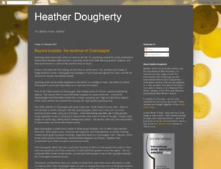 heatherdougherty.blogspot.com screenshot