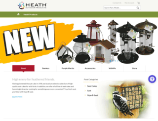 heathoutdoorproducts.com screenshot