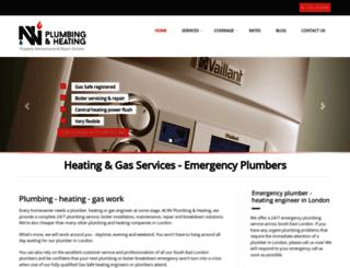 heating-gas.co.uk screenshot