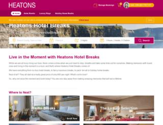 heatonshotelbreaks.com screenshot