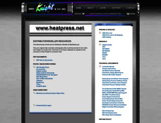 heatpress.net screenshot