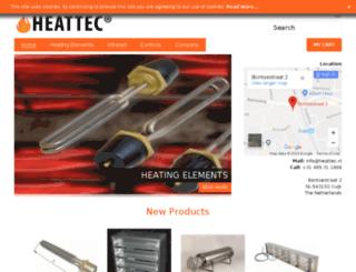 heattec-heating.com screenshot