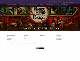 heavenandearthdesigns.com screenshot