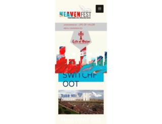 heavenfest.com screenshot