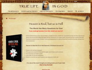 heavenisrealbook.com screenshot