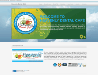 heavenlydentalcafe.com screenshot