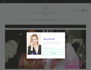 heavenlynecklaces.com screenshot
