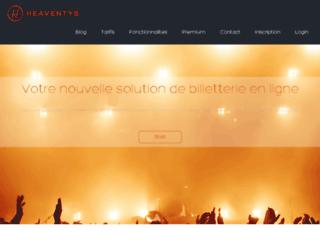 heaventys.com screenshot