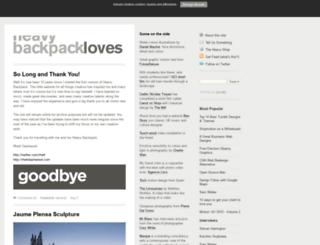 heavy-backpack.com screenshot