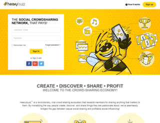 heavybuzz.com screenshot