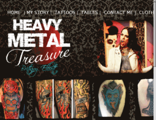 heavymetaltreasure.com screenshot