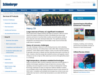 heavyoilinfo.com screenshot